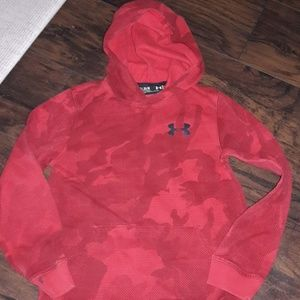 Boys sz Med Under Armour hoodie